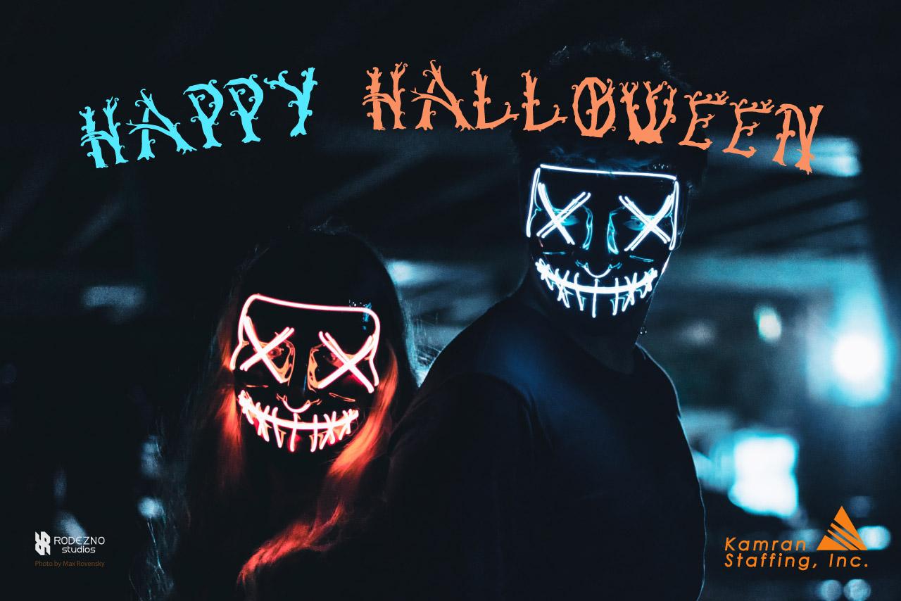 Kamran-Staffing - Happy Halloween- 2019- by Rodezno Studios (www.RodeznoStudios.com)